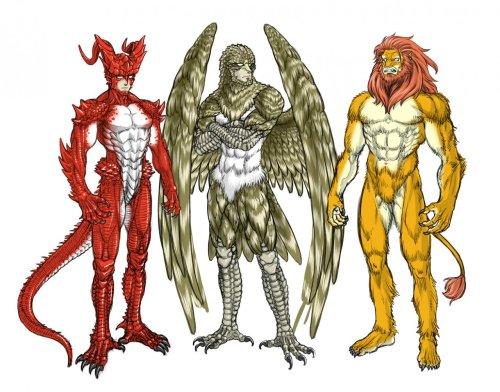 Beastmen by Cidius