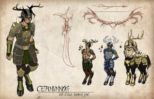 Cernunnos Concept by Dreamer Whit 95