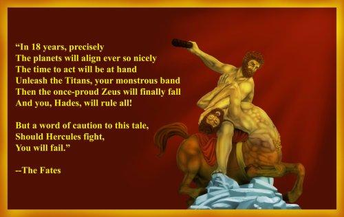 Hercules Strangles Nessus by Midori No Usagi
