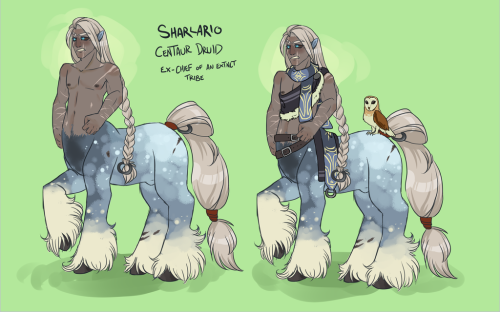 Sharlario (Ref) by Lavvy The Jackalope