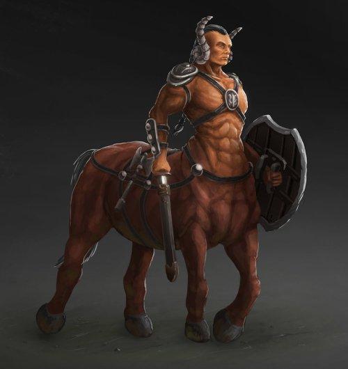 Centaur by Latusma
