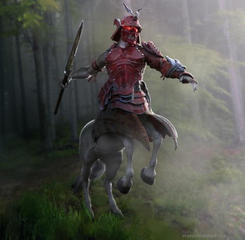 Samurai Centaur by Randy Bantog