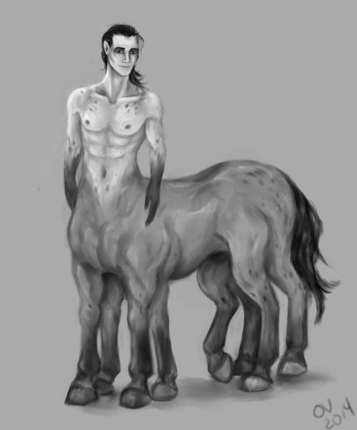 Sleiphnir Centaur by Livy Scissorelffms
