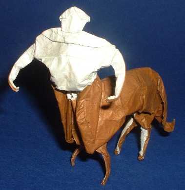 Origami Centaur by Mario Adrados Netto