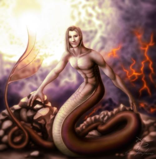 Snakeman by Sceryaha Dream Weaver scereyahadreamweaver_snakemanfa