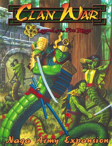 01 nagas L5R Clan War Naga Expansion Army