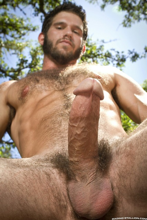 Old men big dicks big muscle