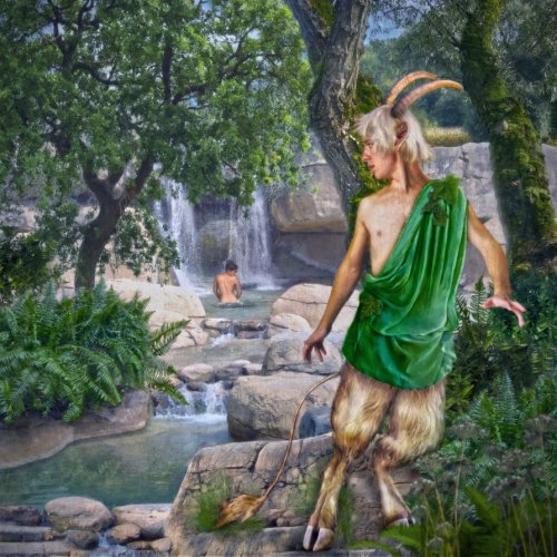 Young Satyr by To4kavozvrata