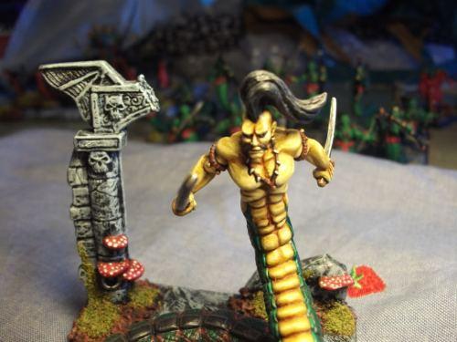 L5R Clan War Naga miniature
