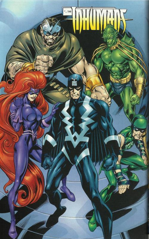 Inhumans- Fantastic Four (Vol 3, #51)