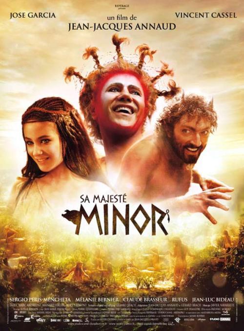 sa majeste minor poster