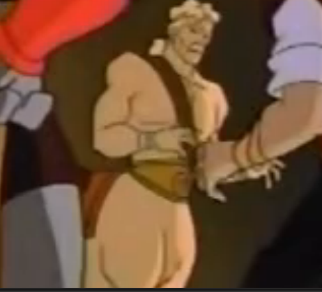 Background centaur character from New Olympians episode of Gargoyles