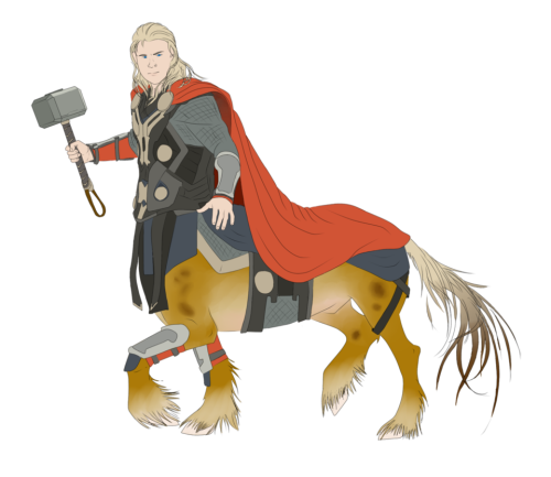 Thor Clip-Clop by Flying Zamora