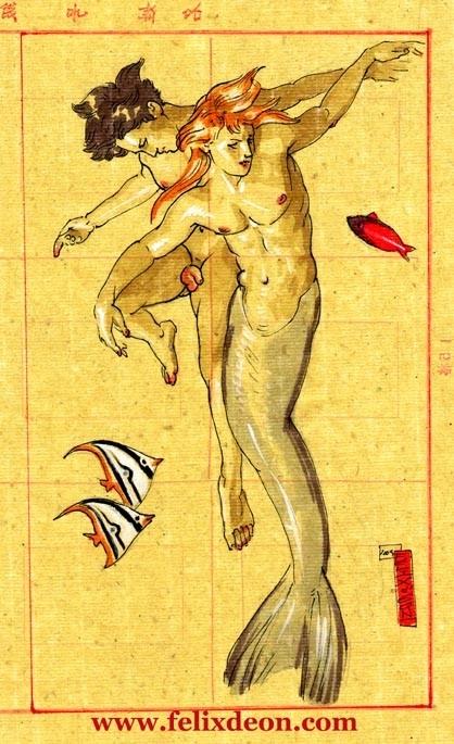Merman by Felix d'Eon