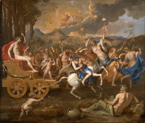 """The Triumph of Bacchus"" by Nicolas Poussinroject"