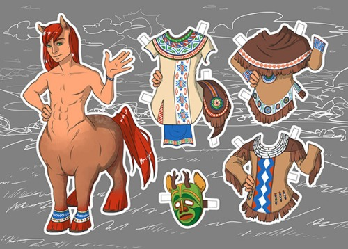 Paperdoll Centaur by Jessicaerdoll_preview