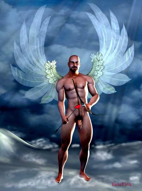Angel Cupid by Bearflex