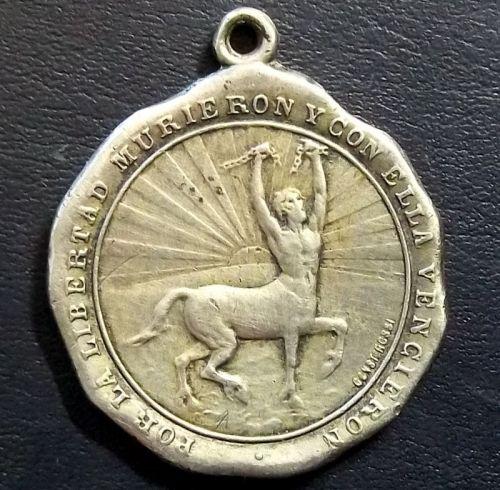 centaur Uruguay Partido Nacional medal