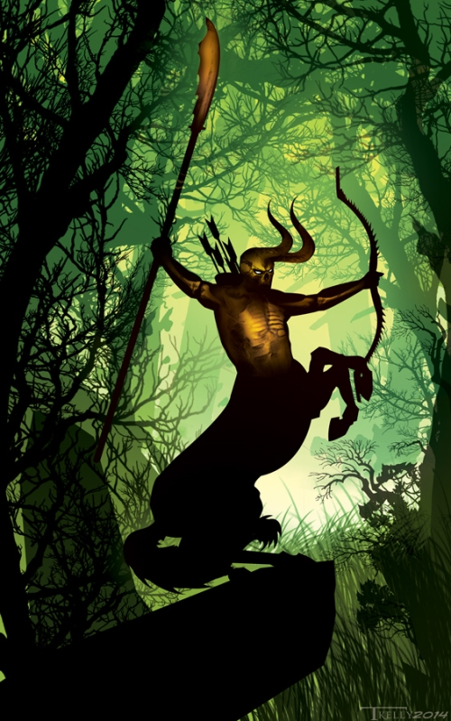 Dark Lord of the Wood by Tom Kelly Art