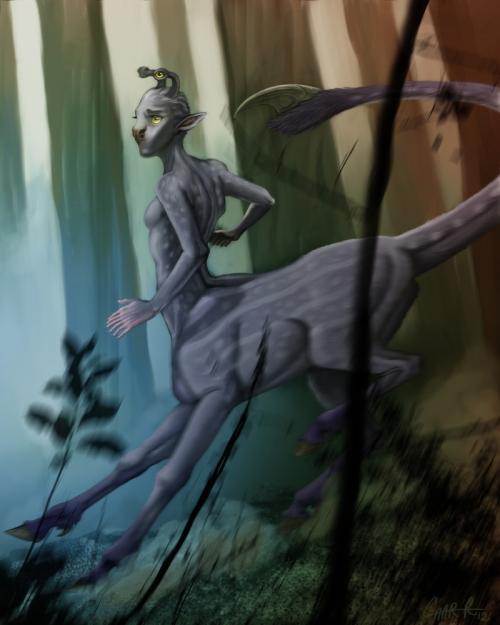 Hork Bajir Chronicles (Alternate Cover) Aldrea by Char Reedarreed-d4ogcmo