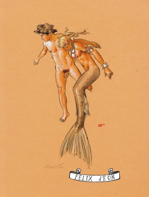Merman Lover by Felix d'Eon