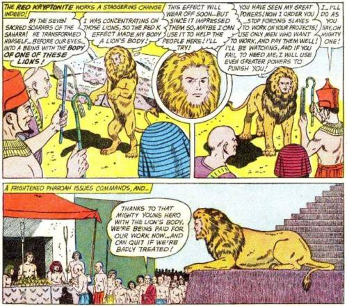 Superboy #103: Supersphinx