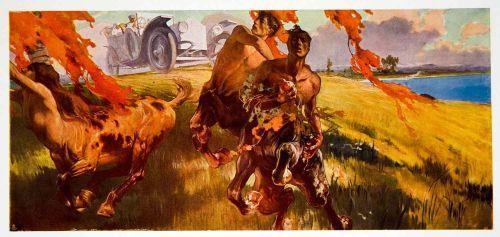 Centaurs by Giuseppe Palantino