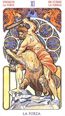 Major Arcana #11: Strength--Hercules Slays Nessus